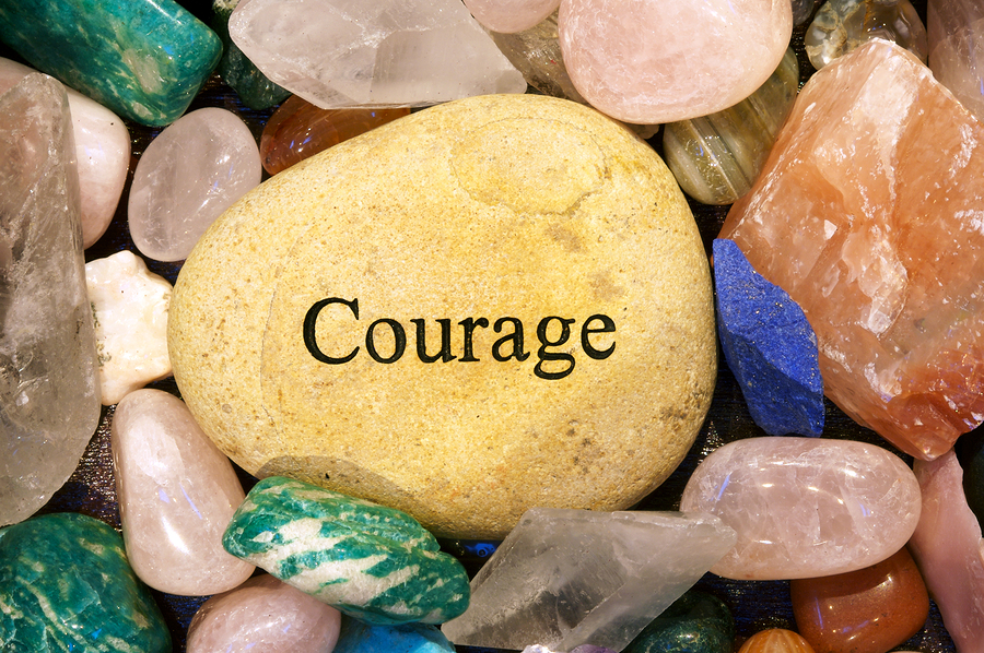 Courage And Grief Go Hand In Hand