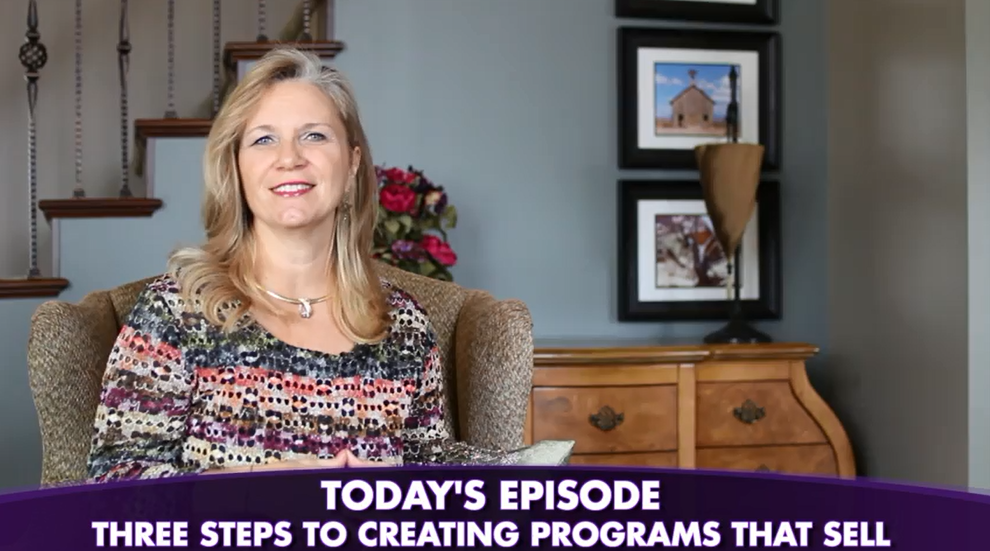 Episode #92: 3 Steps To Creating Programs Your Ideal Client Can't Resist