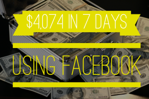 $4074 in 7 DAYS
