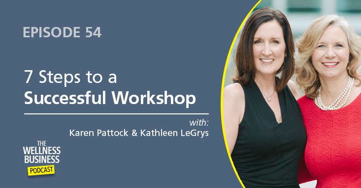 How To Use Wellness Workshops To Get New Clients