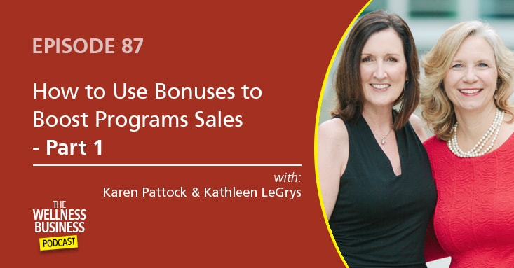 The Secret To Using Program Bonuses To Boost Sales – Part 1