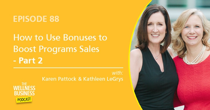 The Secret To Using Program Bonuses To Boost Sales – Part 2