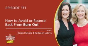 Avoid Burn Out