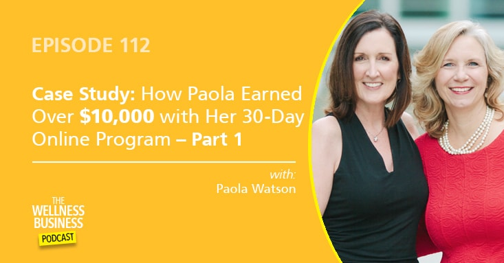 How Paola's 30-Day Online Program Earned Over $10,000 – Part 1