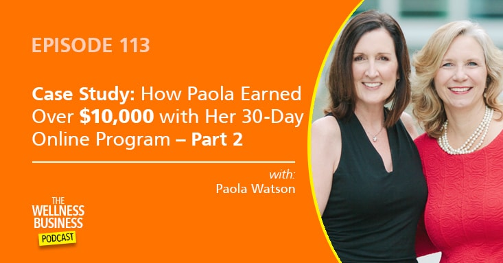 How Paola's 30-Day Online Program Earned Over $10,000 – Part 2
