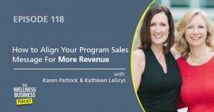 Align Your Program Sales Message