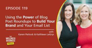 Blog Post Roundups