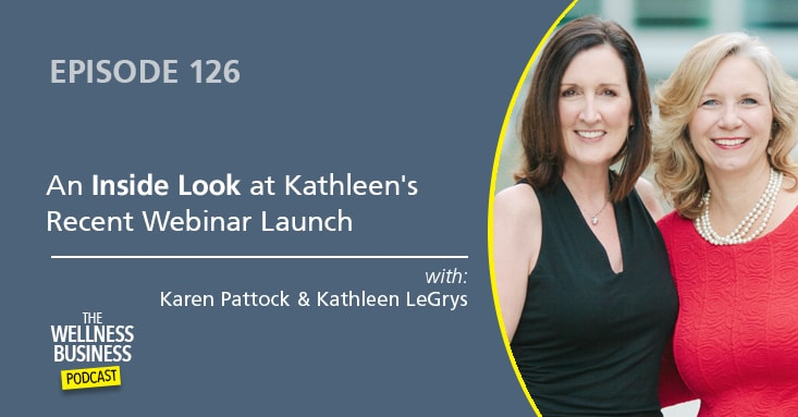 A Behind-The-Scenes Look At Kathleen's Recent Webinar Launch