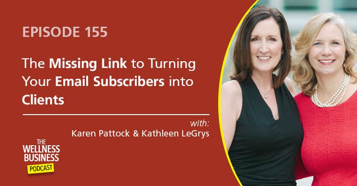 The Missing Link to Turn Your Email Subscribers Into Paying Clients