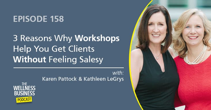 3 Reasons Why Workshops Help You Get Clients Without Feeling Salesy