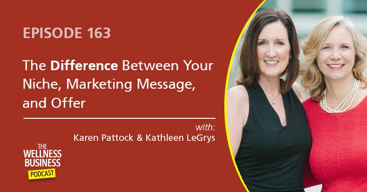 The Difference Between Your Niche, Marketing Message, and Offer – Part 1