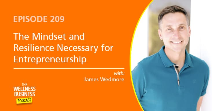 The Mindset and Resilience Necessary for Entrepreneurship with James Wedmore