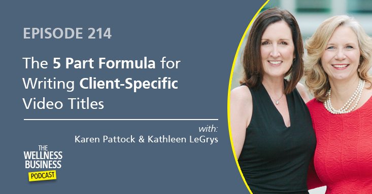 5-Part Formula for Writing Client-Specific Video Titles
